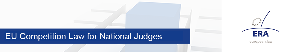 EU Competition Law for National Judges