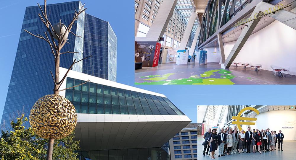 """Visit of the European Central Bank, Frankfurt am Main"""