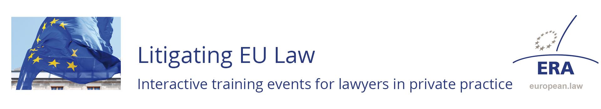 Litigating EU Law