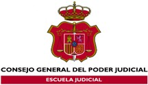 Logo Spain: The Judicial School of Spain, General Council of the Judiciary
