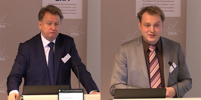 Jerzy Jendrośka and G.A.J.M. (Gijs) Hoevenaars