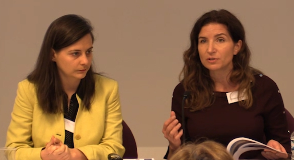 Andrea Ghimis and Christine Sullivan